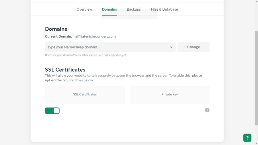 How to Install a Free SSL Certificate on EasyWP - Affiliate